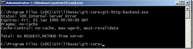 Hosting a Git server under Apache on Windows – Jeremy